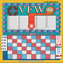 VFW Punch Board