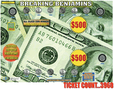 Breaking Benjamins Coin Board