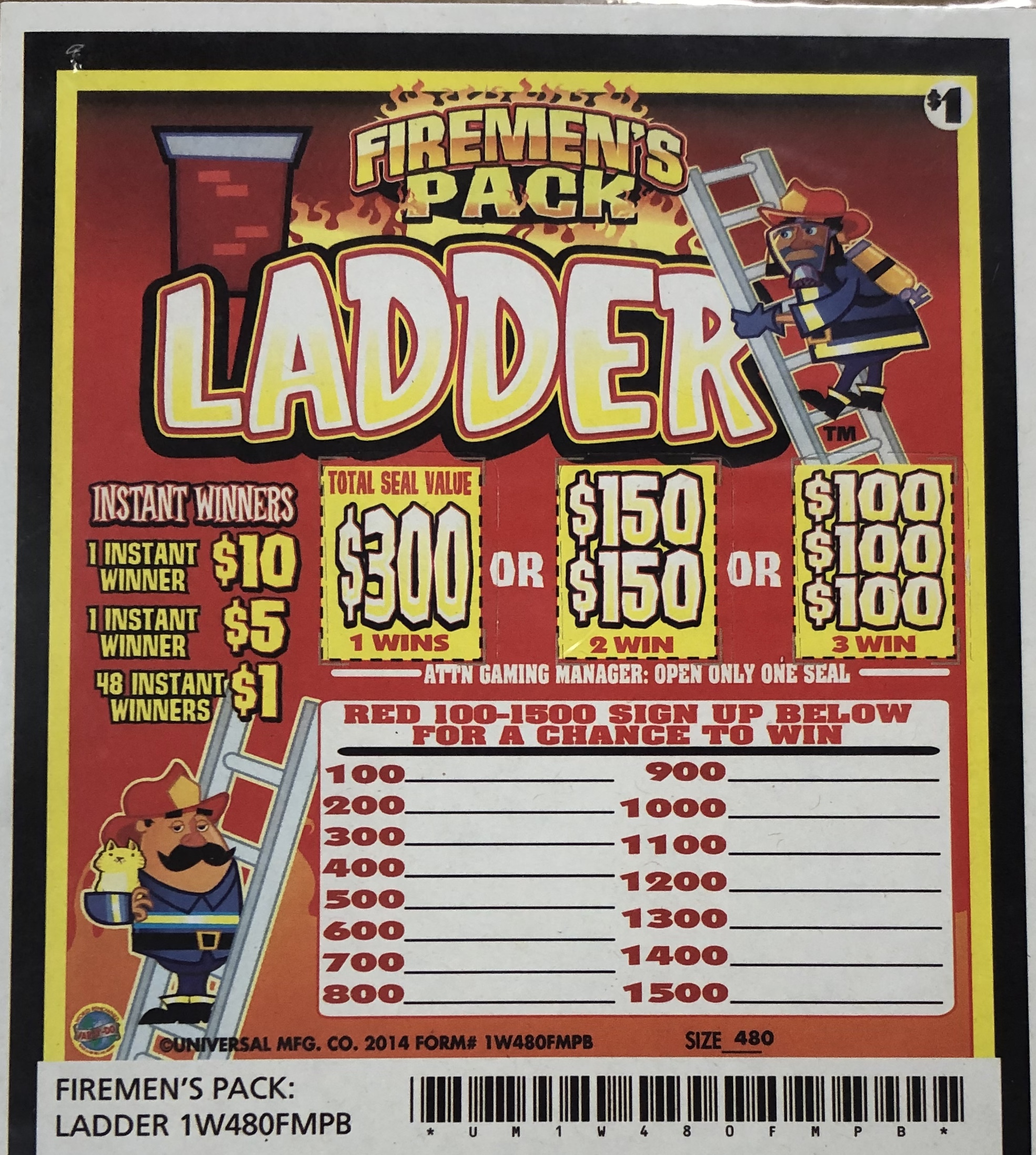 Firemen's Mix Seal Cards
