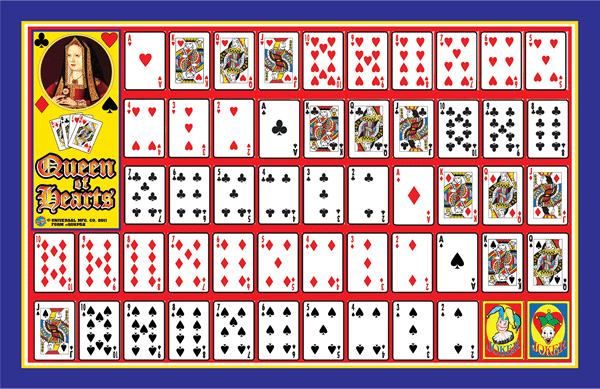Queen of hearts boards