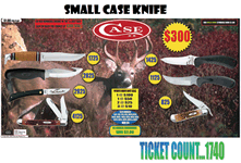Small Case Knife Merchandise Board