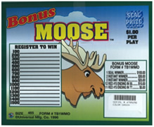 Bonus Moose Seal Cards