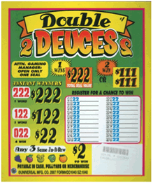 Double Deuces Seal Cards
