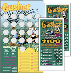 Gushers Seal Cards