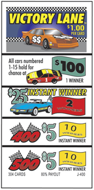 Victory Lane Seal Cards